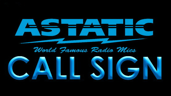 Astatic Mics Custom Call Sign LED Neon Sign